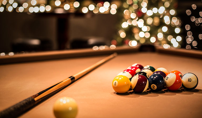 Billiards at Stockbridge Entertainment Center