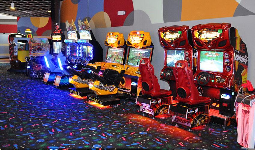 Video Arcade at Pin Strikes, Georgia