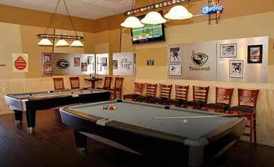 Billiards at Pin Strikes, Georgia